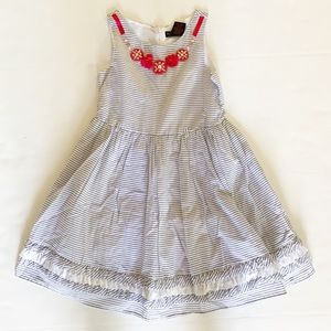 Adorable Cynthia Rowley size 8 dress stripes